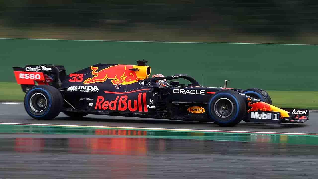 Qualifiche Belgio Verstappen