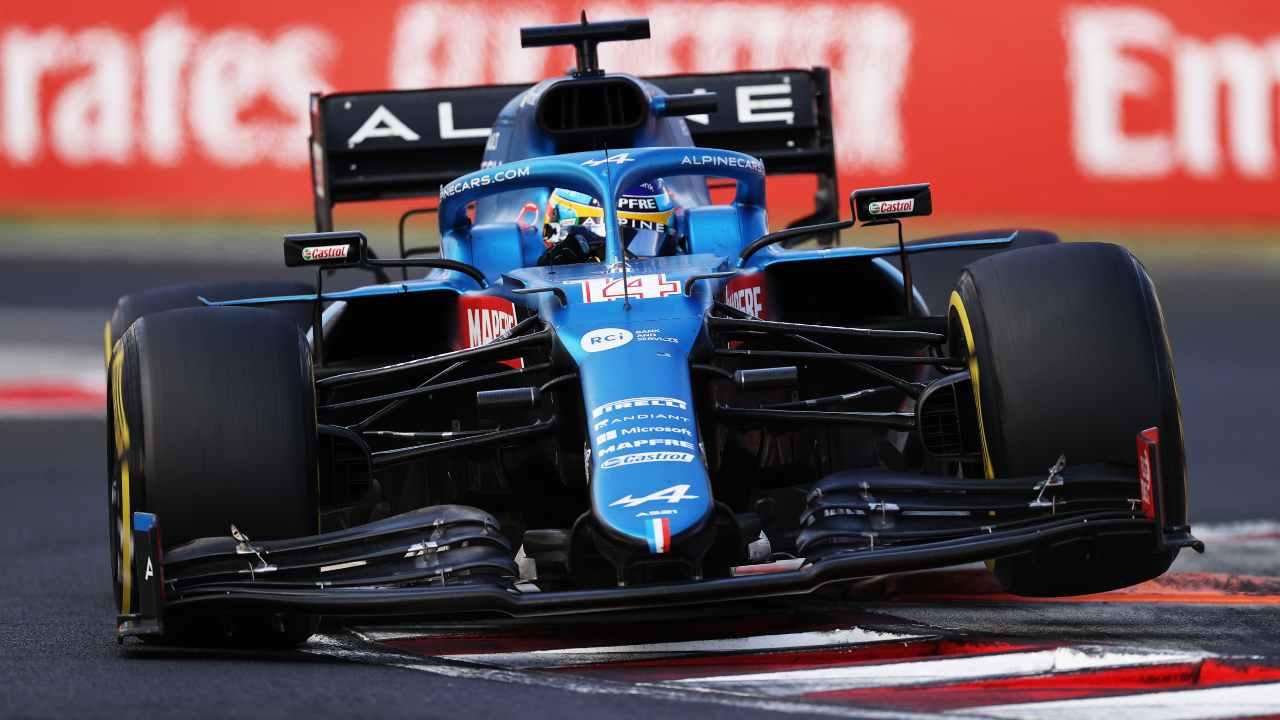 La Alpine di Alonso
