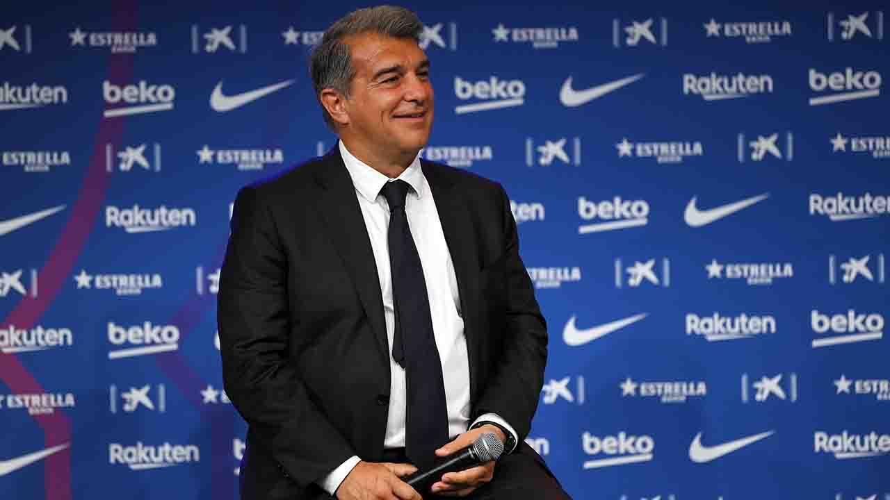 Barcellona UEFA Laporta