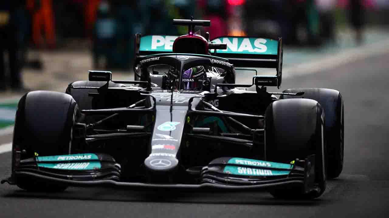 Formula 1 Sochi Hamilton