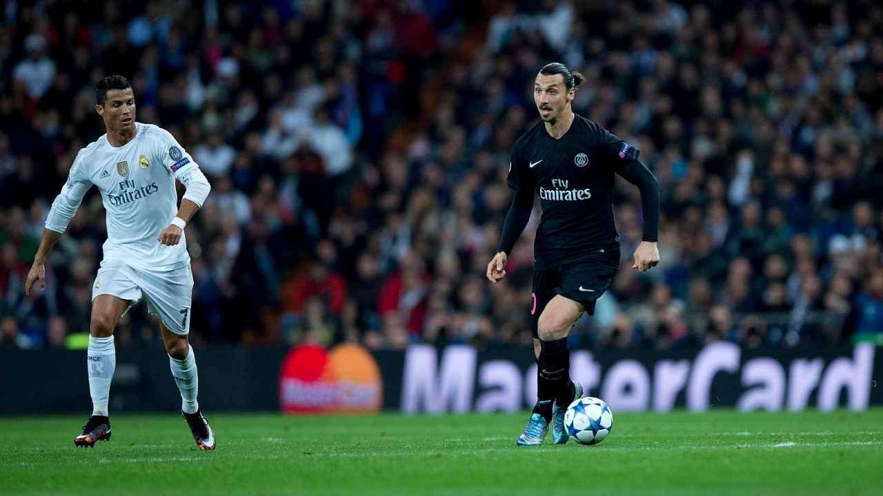 Ibra e Ronaldo