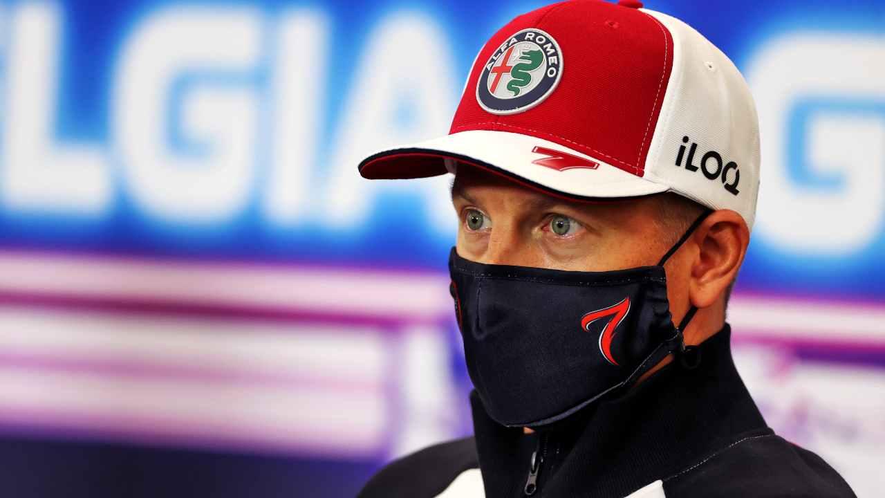 Il campione del mondo Raikkonen