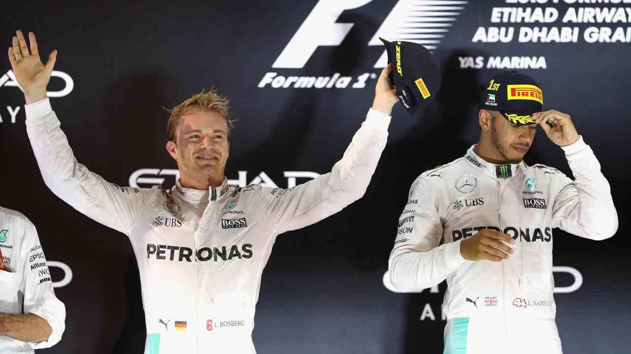 Il trionfo di Rosberg