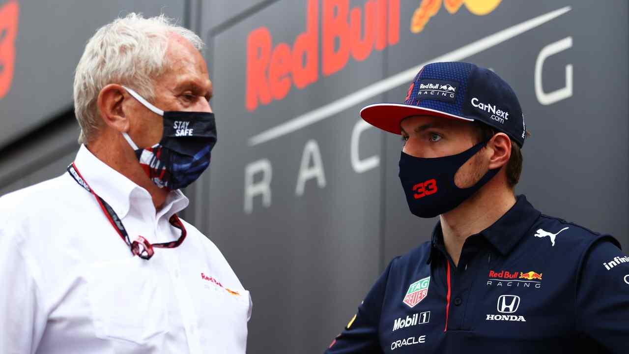 Marko e Verstappen