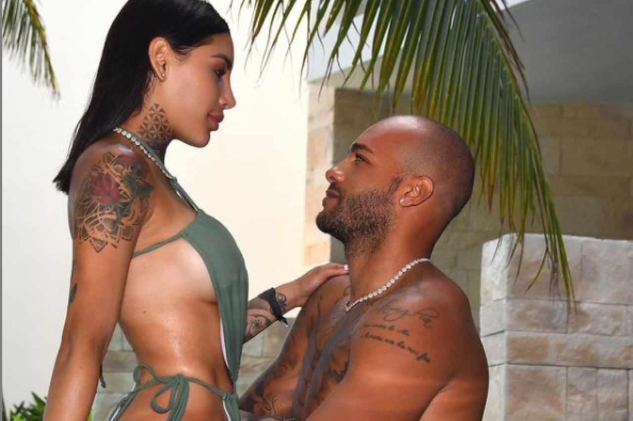 Marcell Jacobs e Nicole