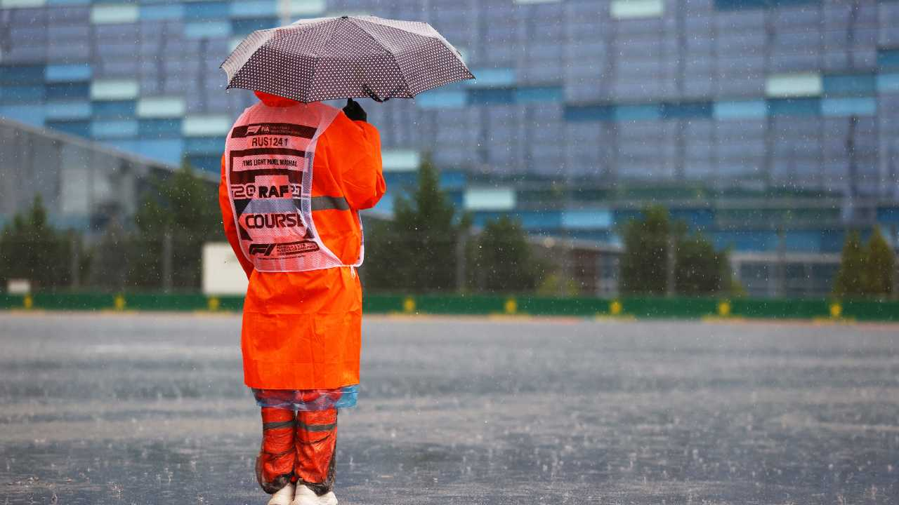 Pioggia Gp Sochi