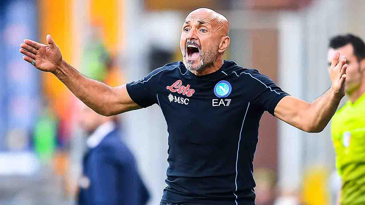 Sampdoria Napoli Spalletti