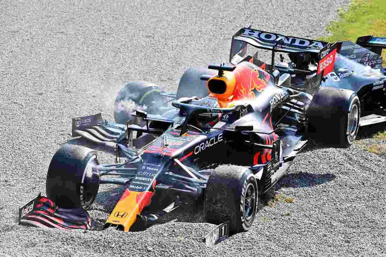 Incidente Verstappen Hamilton