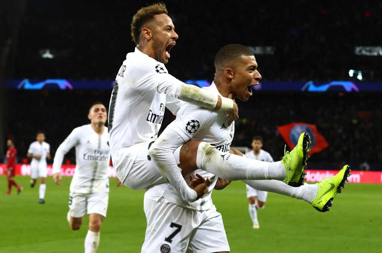 Mbappe e Neymar