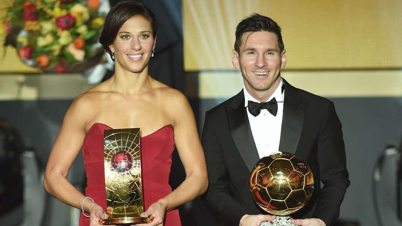 Messi vincitore